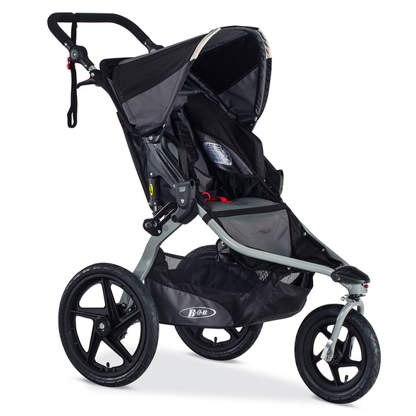 BOB Revolution Flex Stroller in Black/Black