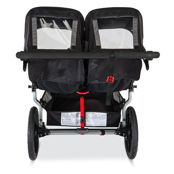BOB Revolution Flex Duallie Stroller in Black/Black