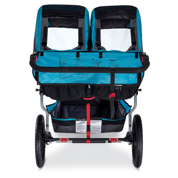 BOB Revolution Flex Duallie Stroller in Lagoon