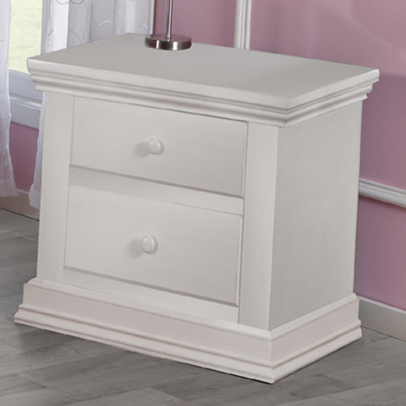 Pali Modena Collection Nightstand in Vintage White