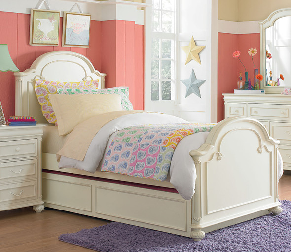 Legacy Classic Kids Charlotte Twin Size Arched Panel Bed