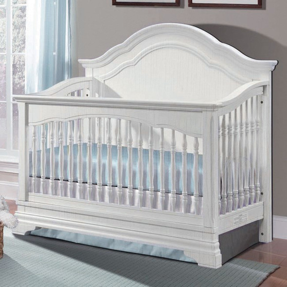 Westwood Athena Collection Convertible Crib in Belgium Cream