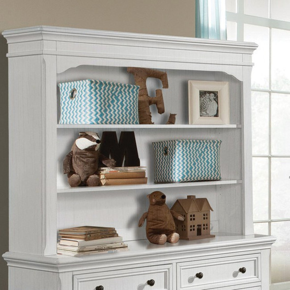 Westwood Athena Collection Hutch/Bookcase in Belgium Cream