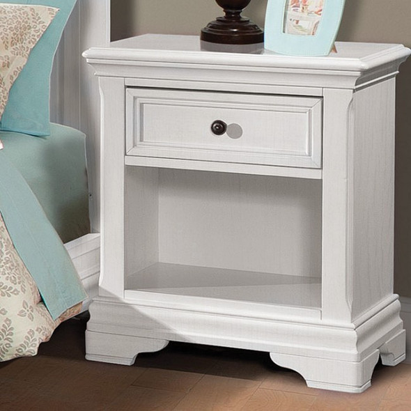 Westwood Athena Collection Nightstand in Belgium Cream