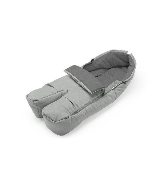 Stokke Footmuff in Grey Melange