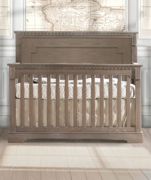 Natart Ithaca Collection 5 in 1 Convertible Crib in Sugar Cane