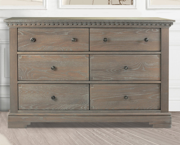 Natart Ithaca Collection Double Dresser in Sugar Cane