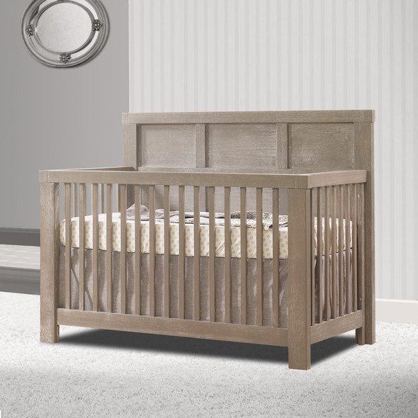 Natart Rustico Collection 5 in 1 Convertible Crib in Sugar Cane