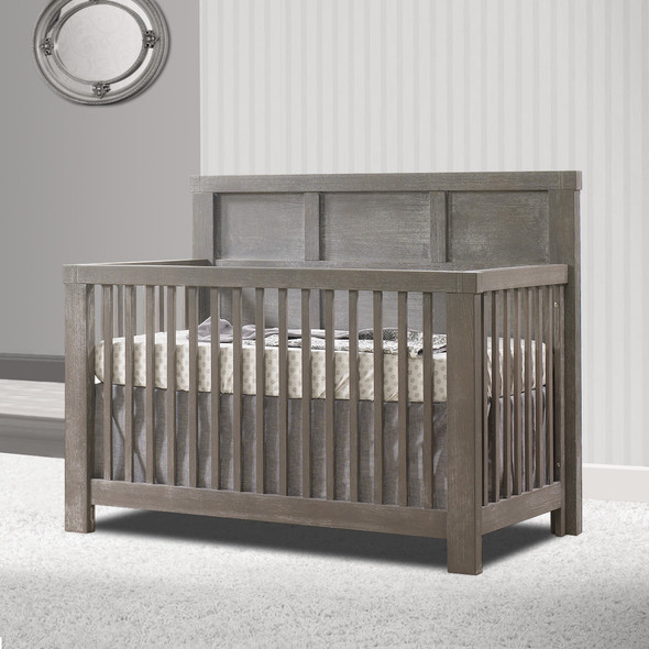 Natart Rustico Collection 5 in 1 Convertible Crib in Owl
