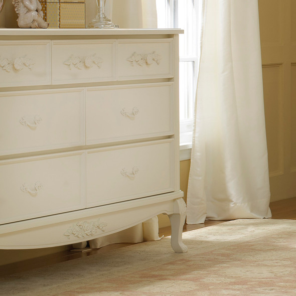 Dolce Babi Angelina Double Dresser in French Vanilla