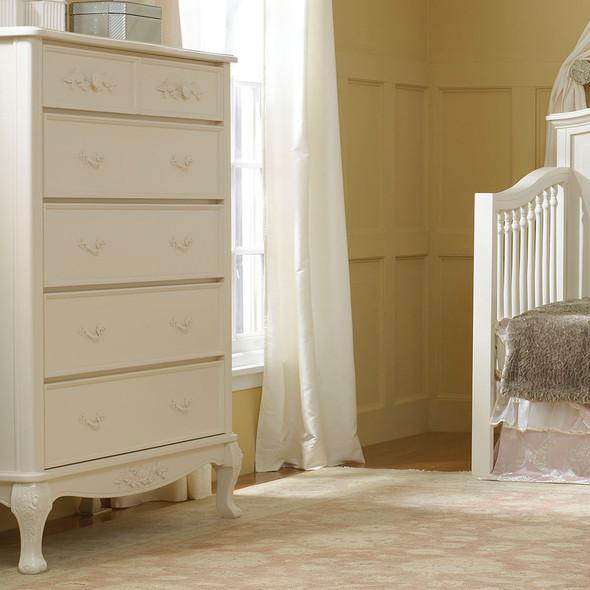 Dolce Babi Angelina 5 Drawer Dresser in French Vanilla