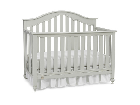 Fisher Price Kingsport Convertible Crib in Misty Grey