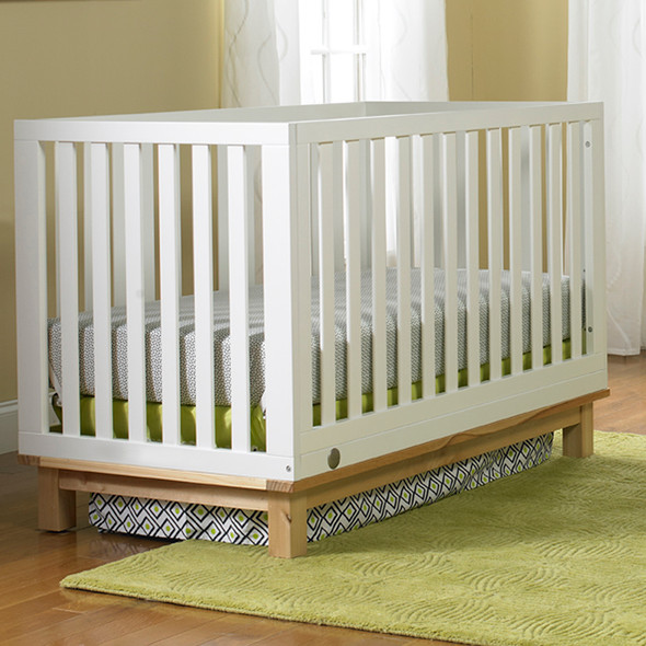 Fisher Price Riley Island Convertible Crib in Snow White/Natural