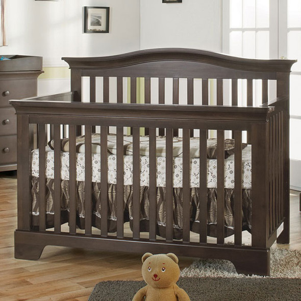 Pali Volterra Collection Forever Crib in Slate