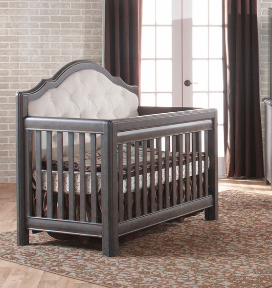 Pali Cristallo Convertible Crib in Granite