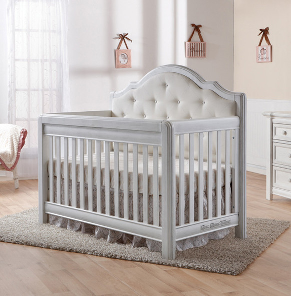 Pali Cristallo Convertible Crib in Vintage White