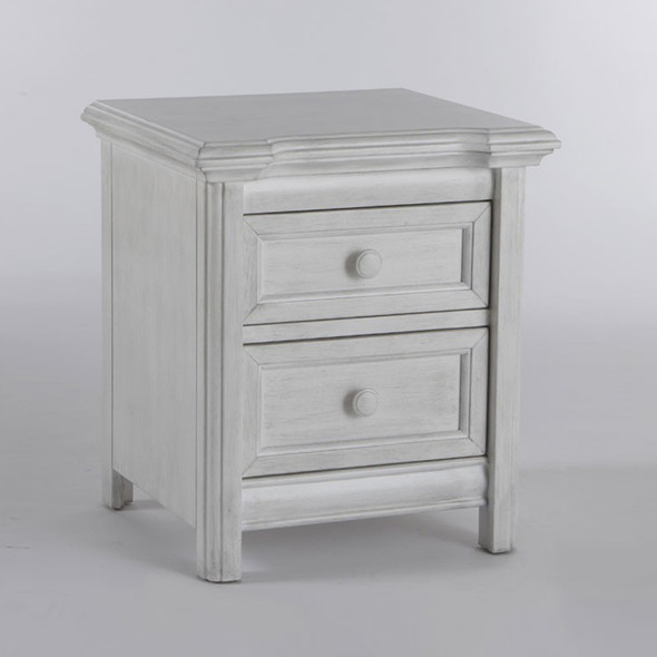 Pali Cristallo Nightstand in Vintage White