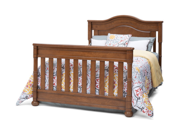 Simmons Hanover Park Collection Full Size Rails in Chestnut