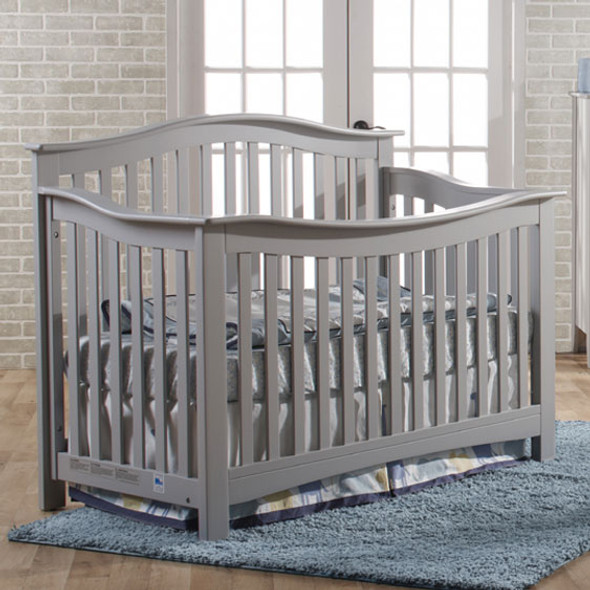 Pali Bolzano Collection Forever Crib in Stone