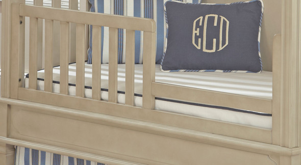 Brixy Haven Toddler Rail-Lifetime in Heather Grey