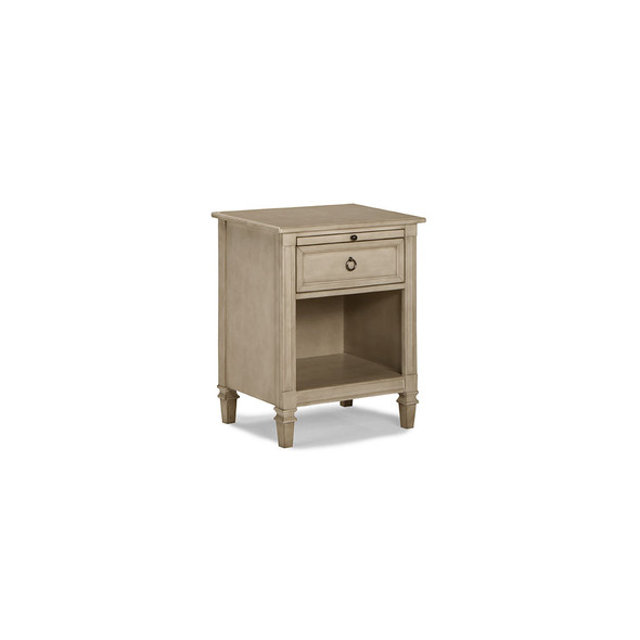 Brixy Haven Nightstand in Heather Grey