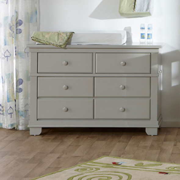Pali Torino Collection Double Dresser in Stone