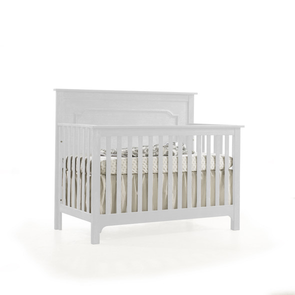 NEST Emerson Collection 4 in 1 Convertible Crib in White