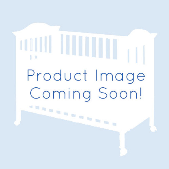 NEST Provence Collection 4 in 1 Convertible Crib in Sugar Cane with Upholstered Panel in Fog