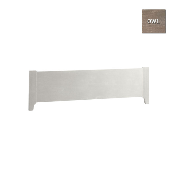 """Natart Ithaca Collection Low Profile footboard 54"""" in Owl"""