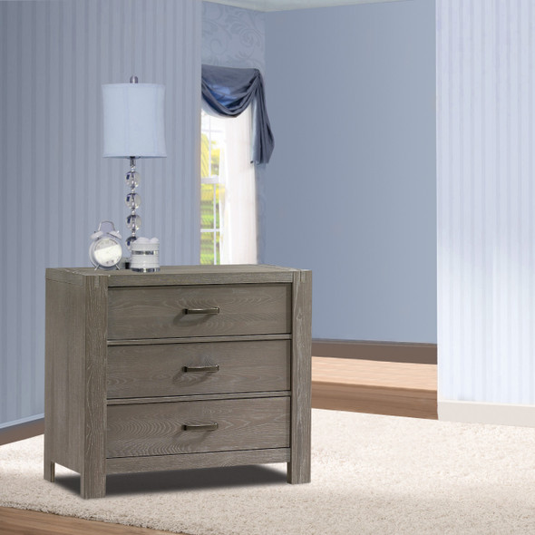 Natart Rustico Collection 3 Drawer Dresser in Owl