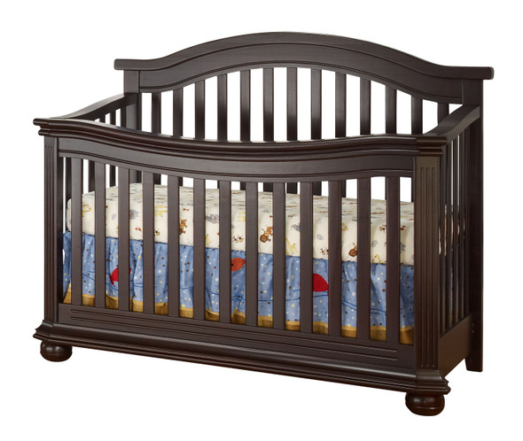 Vista Elite Collection Convertible Crib in Espresso