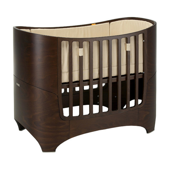 Leander Crib and Conversion Kit in Walnut