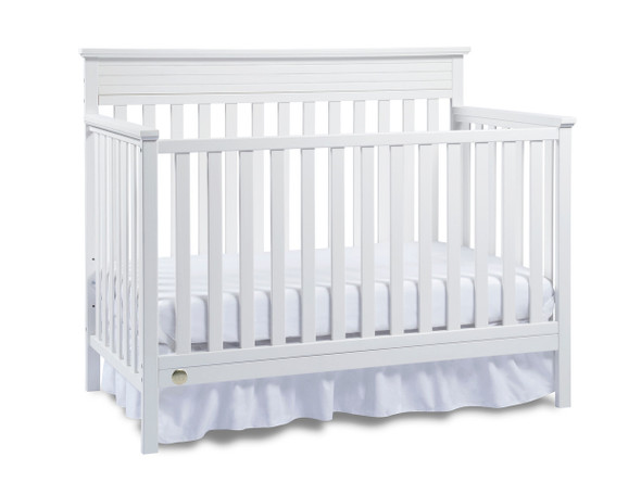 Fisher Price Newbury Convertible Crib in Snow White