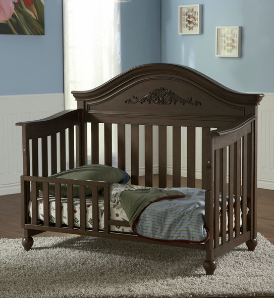 Pali Gardena Collection Forever Crib in Slate