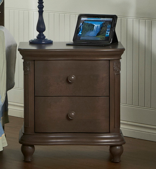 Pali Gardena Collection Nightstand in Slate