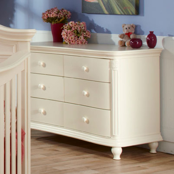 Pali Gardena Collection Double Dresser in Dream
