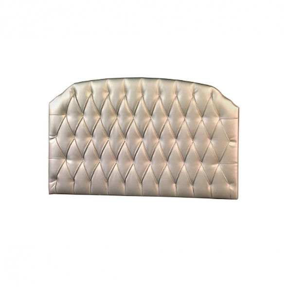 Natart Bella Tufted Panel in Platinum