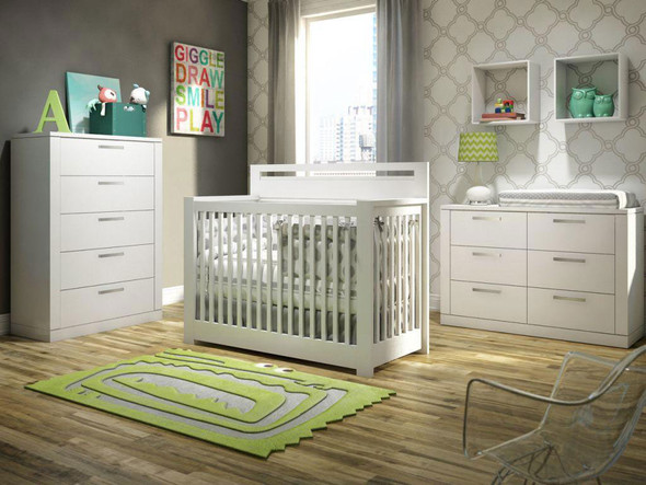 NEST Milano Collection 3 Piece Set in White