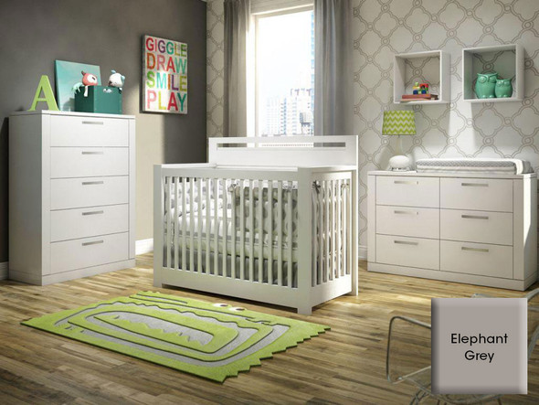 NEST Milano Collection 3 Piece Set in Elephant Gray