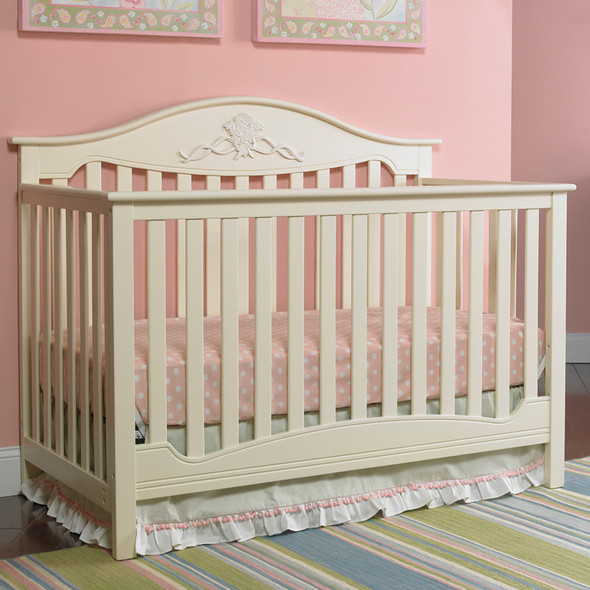 Fisher Price Mia 4 in 1 Convertible Crib in Sugar Cookie