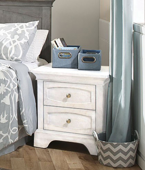 Pali Ragusa Nightstand in Vintage White
