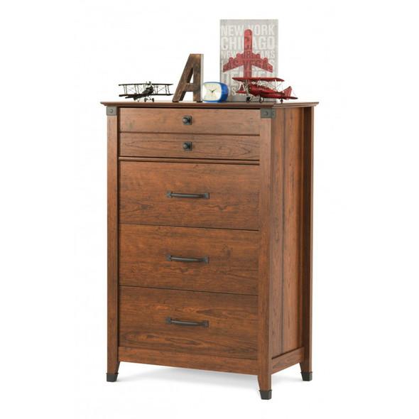 Child Craft Redmond 4 Drawer Dresser in Coach Cherry