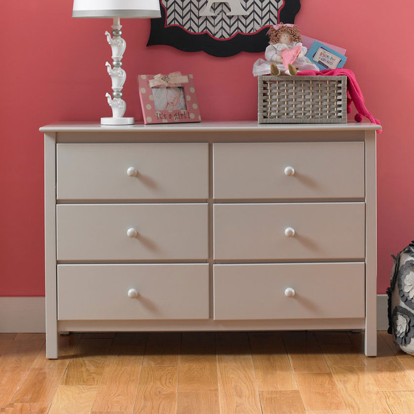 Fisher Price Double Dresser in Misty Grey