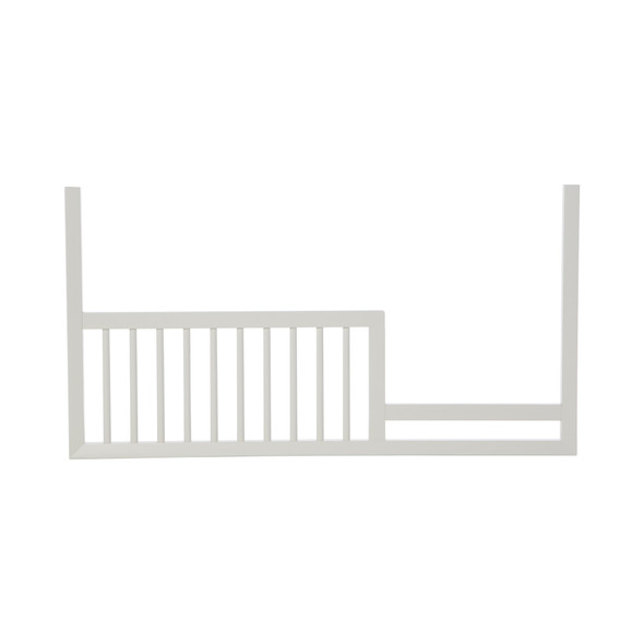 DwellStudio Mid Century Toddler Rail in French White
