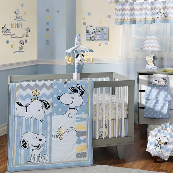 Lambs & Ivy My Little Snoopy Bedding Set