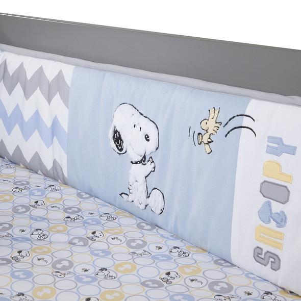 Lambs & Ivy My Little Snoopy Crib Bumper