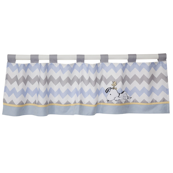 Lambs & Ivy My Little Snoopy Window Valance