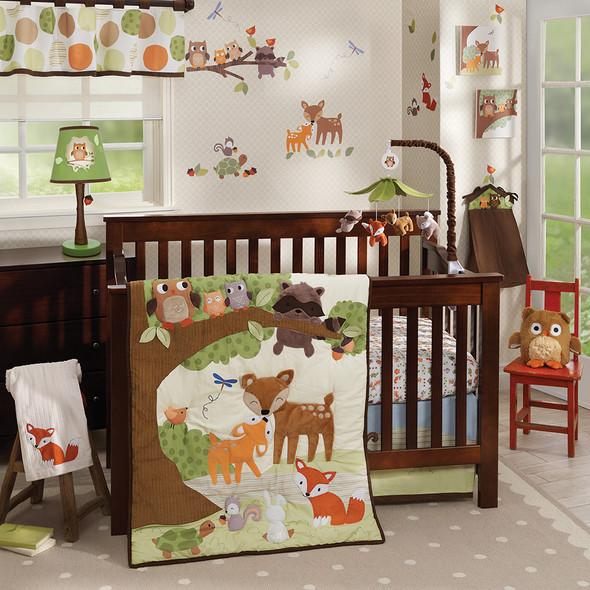 Lambs & Ivy Woodland Tales Bedding Set