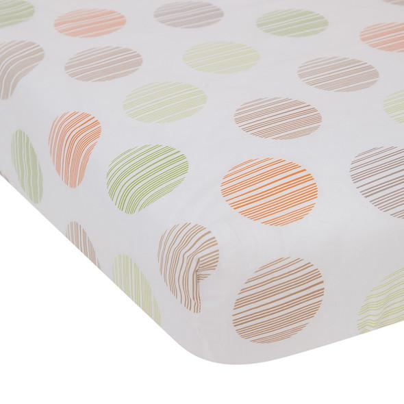 Lambs & Ivy Woodland Tales Crib Sheet