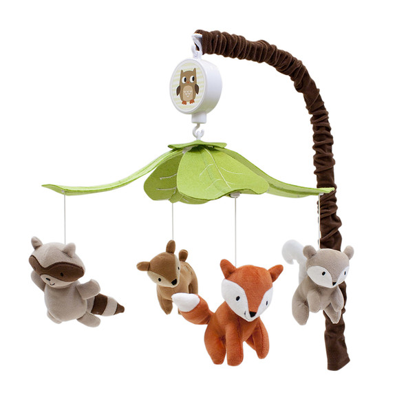 Lambs & Ivy Woodland Tales Musical Mobile